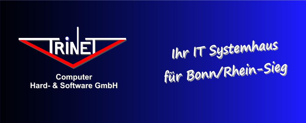 TriNeT Computer -  Ihr IT-Systemhaus für Bonn / Rhein-Sieg Server, PCs, TK-Anlagen, VoIP, Server, Wartung, Wartungsverträge